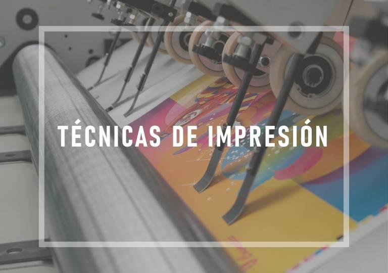 CURSO TÉCNICAS DE IMPRESIÓN