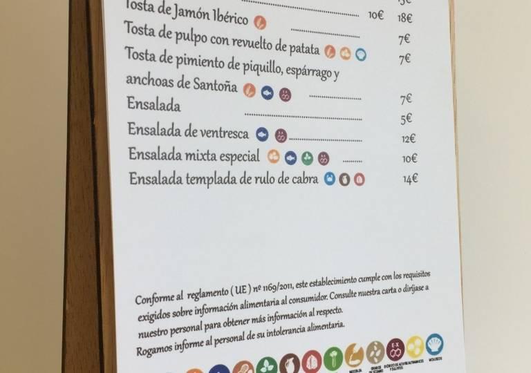 CARTA MENÚ - RELACIONES PÚBLICAS