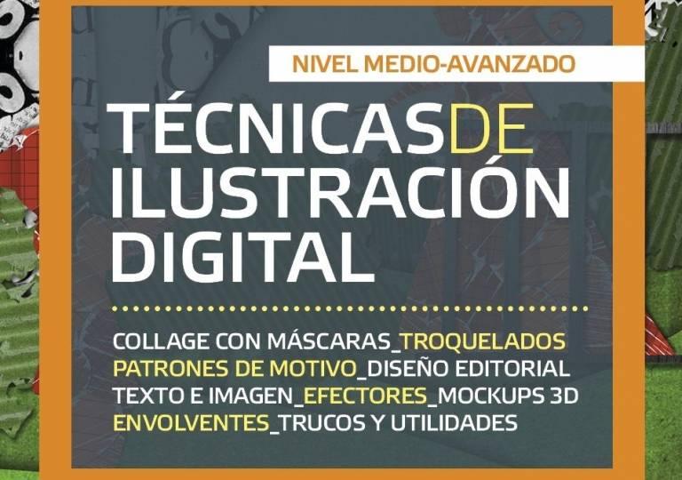 TÉCNICAS DE ILUSTRACIÓN DIGITAL (NIVEL MEDIO-AVANZADO)