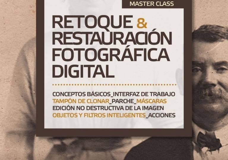 CURSO INTENSIVO RETOQUE Y RESTAURACIÓN FOTOGRÁFICA DIGITAL